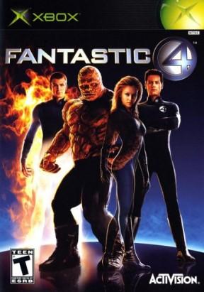 I Fantastici 4 Xbox Cover