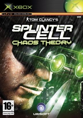 Splinter Cell: Chaos Theory Xbox Cover