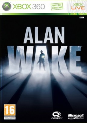Alan Wake Xbox 360 Cover