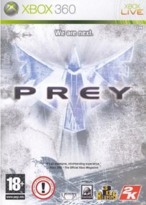Prey (2006) Xbox 360 Cover