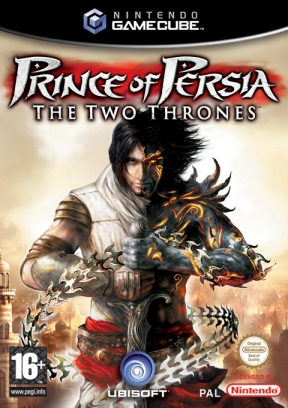 Prince Of Persia: i due troni GameCube Cover
