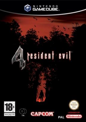Resident Evil 4 GameCube Cover