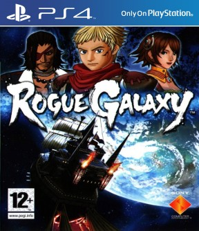 Rogue Galaxy PS4 Cover