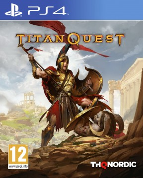 Titan Quest PS4 Cover