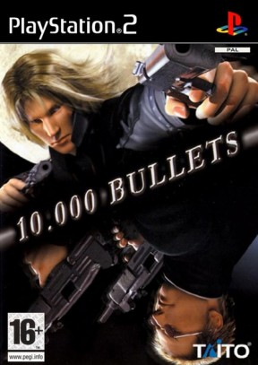 10.000 Bullets PS2 Cover