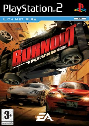 Burnout: Revenge PS2 Cover