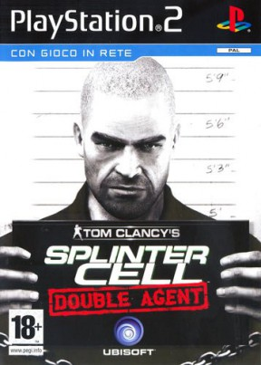 Splinter Cell: Double Agent PS2 Cover