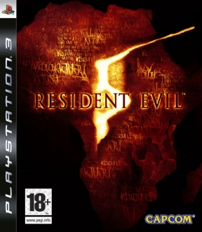 Resident Evil 5 PS3 Cover