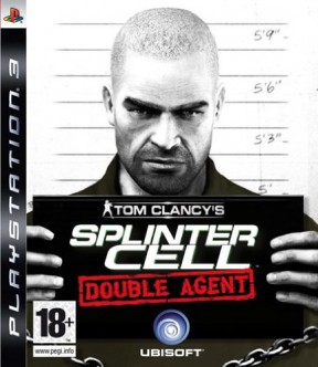 Splinter Cell: Double Agent PS3 Cover