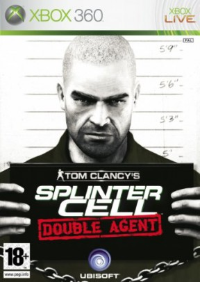 Splinter Cell: Double Agent Xbox 360 Cover