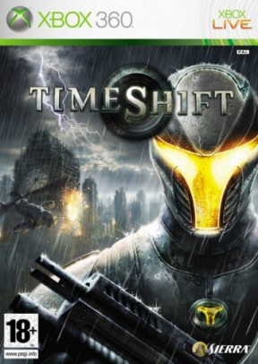 TimeShift Xbox 360 Cover