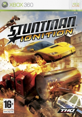 Stuntman: Ignition Xbox 360 Cover