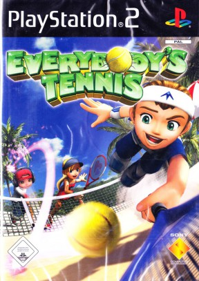 Everybody's Tennis PS2 Cover