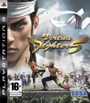 Virtua Fighter 5 PS3 Cover