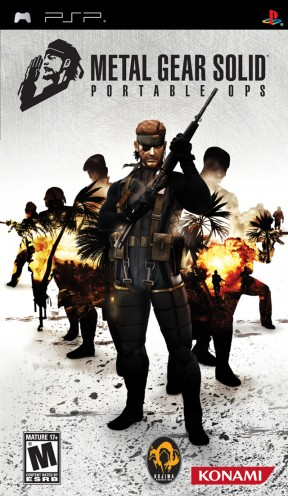 Metal Gear Solid: Portable Ops PSP Cover