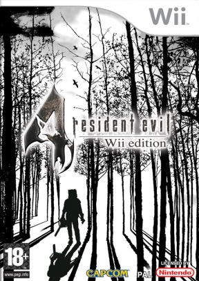 Resident Evil 4: Wii Edition Wii Cover