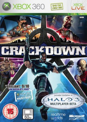 Crackdown Xbox 360 Cover