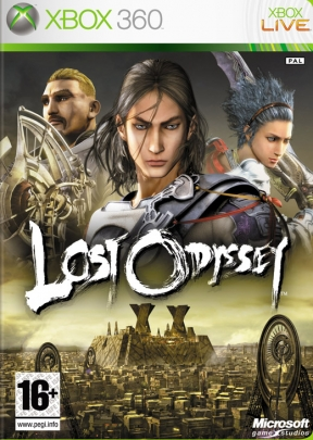 Lost Odyssey Xbox 360 Cover
