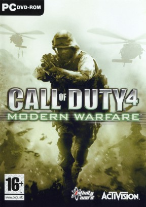 Call of Duty 4: Modern Warfare PC Cover