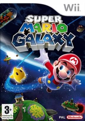 Super Mario Galaxy Wii Cover