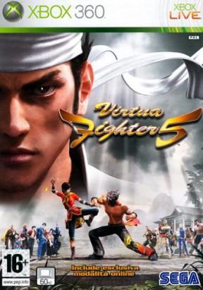 Virtua Fighter 5 Xbox 360 Cover