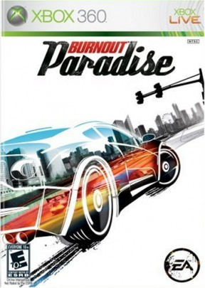 Burnout Paradise Xbox 360 Cover
