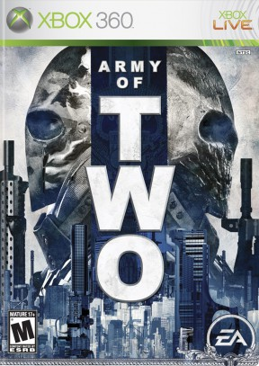 Army of Two Xbox 360 Cover