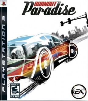 Burnout Paradise PS3 Cover