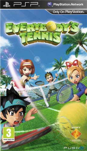 Everybody's Tennis PSP Cover
