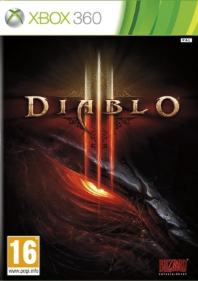 Diablo III Xbox 360 Cover