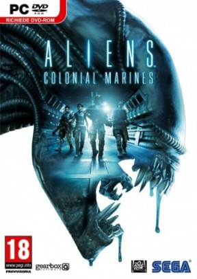 Aliens Colonial Marines PC Cover