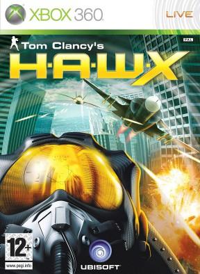 Tom Clancy's H.A.W.X. Xbox 360 Cover