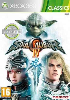 Soul Calibur IV Xbox 360 Cover