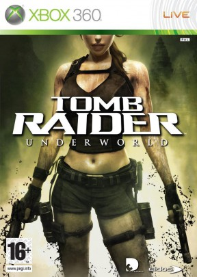 Tomb Raider: Underworld Xbox 360 Cover