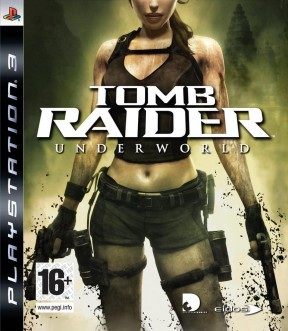 Tomb Raider: Underworld PS3 Cover
