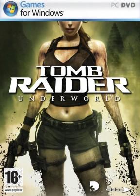 Tomb Raider: Underworld PC Cover