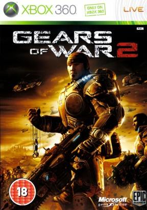 Gears of War 2 Xbox 360 Cover