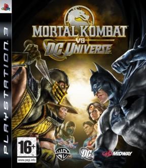 Mortal Kombat vs. DC Universe PS3 Cover