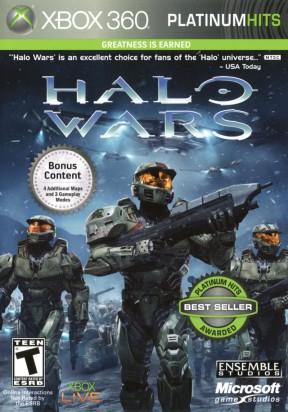 Halo Wars Xbox 360 Cover