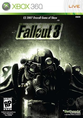 Fallout 3 Xbox 360 Cover