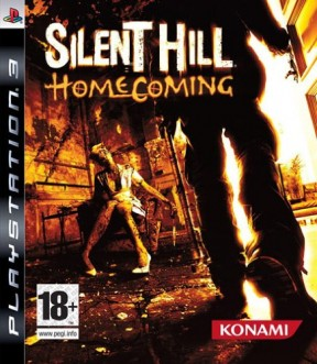 Silent Hill: Homecoming PS3 Cover