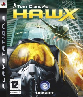 Tom Clancy's H.A.W.X. PS3 Cover