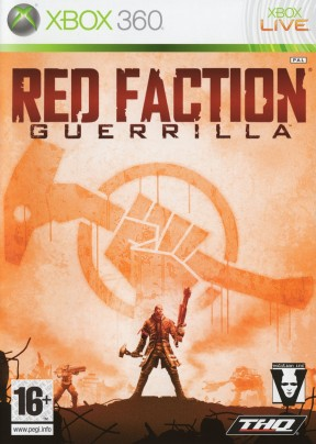 Red Faction Guerrilla Xbox 360 Cover