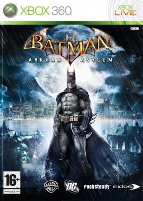 Batman: Arkham Asylum Xbox 360 Cover
