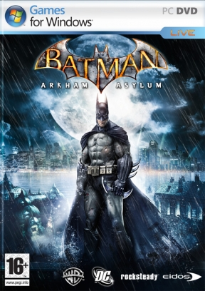 Batman: Arkham Asylum PC Cover