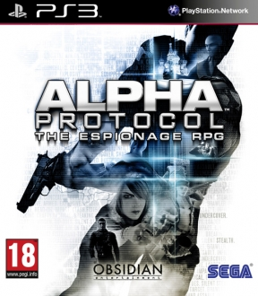 Alpha Protocol PS3 Cover