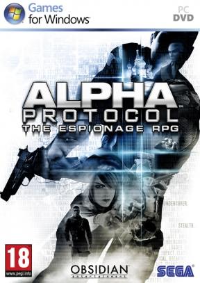 Alpha Protocol PC Cover