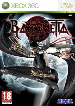 Bayonetta Xbox 360 Cover