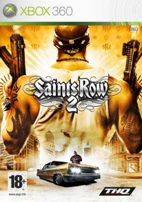 Saints Row 2 Xbox 360 Cover