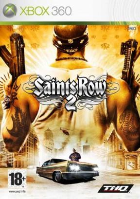 Saints Row 2 Xbox 360 Cover